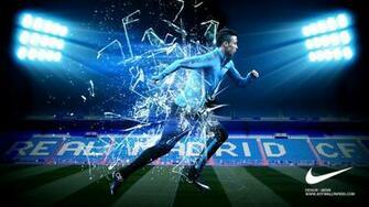 Cristiano Ronaldo 3D Nike Shoes CR7 Desktop Wallpaper