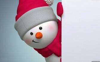 Cute Merry Christmas Snowmen Wallpaper   New HD Wallpapers