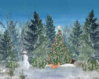 Wallpapers Club Animated Christmas Wallpaper