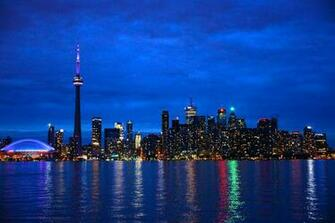 Pin Toronto Canada Skyline Hd Wallpaper World Collection