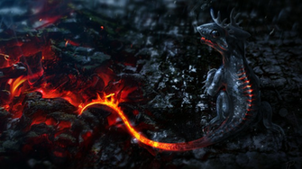 HD Wallpapers 1080P Little dragon 3D