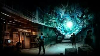 Opening the portal Wallpaper from The Bureau XCOM Declassified