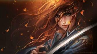 Description Samurai Girl Wallpaper is a hi res Wallpaper for pc