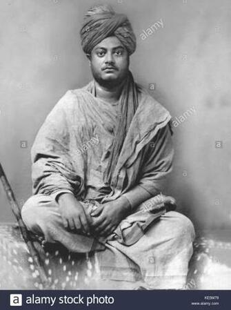 Swami Vivekananda Black and White Stock Photos Images   Alamy