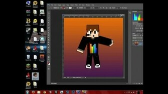 How to make your own minecraft wallpaper using photoshop   Videochart