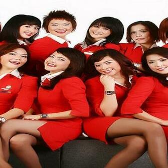 AirAsia flight attendant wallpaper 590x590jpg
