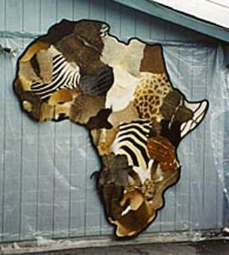 Africa Map by Wolfwoman7
