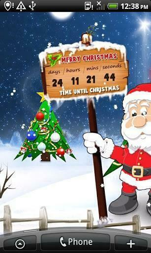 View bigger   christmas countdown wallpaper for Android screenshot