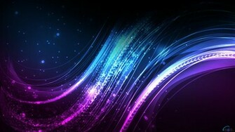 Download Wallpaper Purple lines and curves 1920 x 1080 HDTV 1080p