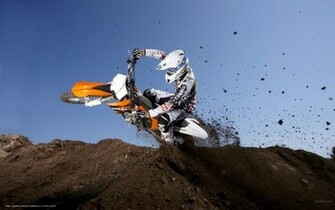 Download wallpaper KTM Motocross SX 350 SX F 350 SX F 2011