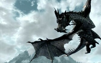 wallpaper dragon flying 1920x1200