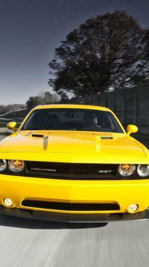 Download Wallpaper 750x1334 Dodge challenger Srt8 392 Cars Style