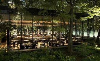 The Caf by Aman Tokyo Japan Architecture Glass restaurant