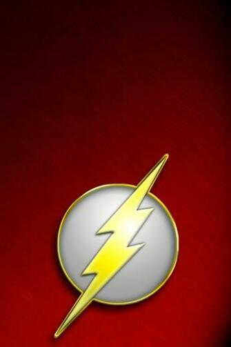 The Flash I4 drawns cartoons wallpaper for iPhone download