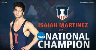 Illinois Athletics   Isaiah Martinez   2015 16   University of
