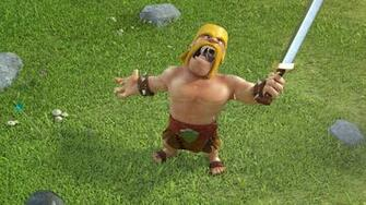 Clash of Clans   Barbarian yelling   1920x1080   Full HD 169
