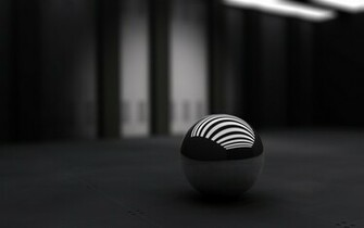 3D Black Ball Wallpapers HD Wallpapers