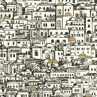 Fornasetti Mediterrania Wallpaper   Mediterranean   Wallpaper   los