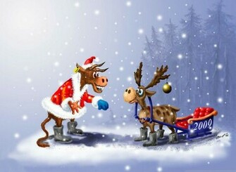 funny christmas wallpapers 3 top 5 funny christmas wallpapers