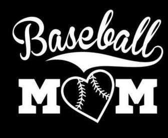 Baseball Mom Vinyl Decal Sticker eBay