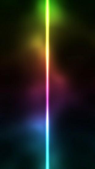 Neon Light Line Wallpaper   iPhone Wallpapers