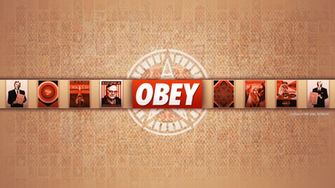 Obey Art Wallpaper Obey desktop w