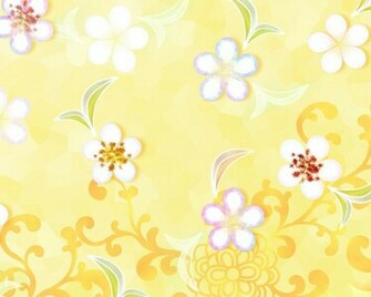 Spring flowers yellow background hd Wallpaper and make this wallpaper