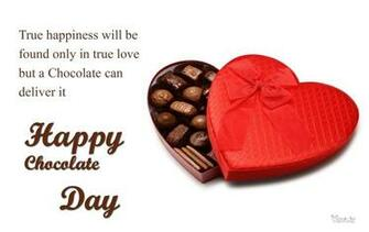Chocolate Day Wallpaper With Heart Chocolate Box