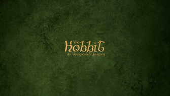 The Hobbit An Unexpected Journey   the Hobbit HD Wallpapers for