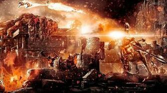 God of War III 1080p Wallpaper God of War III 720p Wallpaper