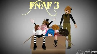 FNAF 3 Wallpaper by karlievocaloid4