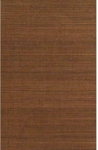 Metallic Copper and Brown Grasscloth Wallpaper contemporary wallpaper