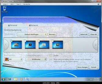 How to Change the Desktop Background Wallpaper in Windows 7 Starter