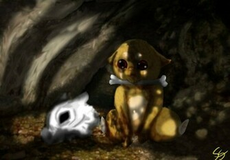 Cubone Unmasked   Pokemon Wallpaper