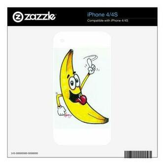 top banana dancing banana cartoon skin