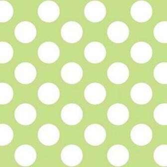 Home Christmas Gifts Polka Dot GreenWhite Removable Wallpaper