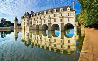 Loire Valley homes of agricultural water castle wallpaper Cable