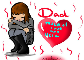 dad i miss you by xXVeraTheCatXx