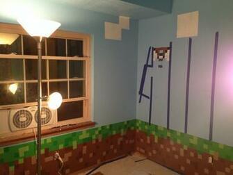 Minecraft Themed Bedroom Wallpaper Minecraft Themed Bedroom