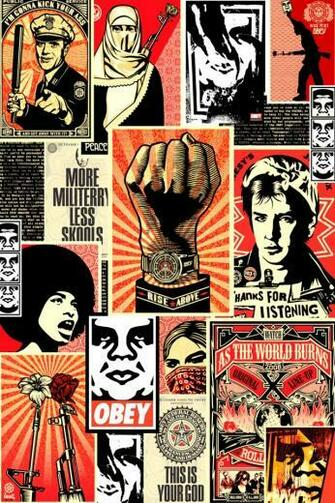 Obey Collage iPhone 4s Wallpaper Download iPhone Wallpapers iPad