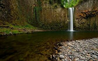 Stones River Waterfall Nature Wallpaper Hd