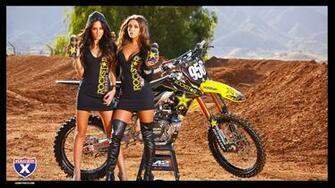 Motocross Wallpaper Girls Rockstar girls