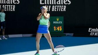 Sofia Kenin Upsets The Odds To Book Australian Open Final Spot