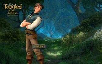 Flynn from Disneys Tangled Desktop Wallpaper