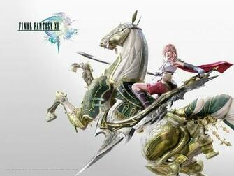 FF XIII Wallpaper   Final Fantasy XIII Wallpaper 32680106