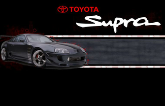 Toyota Supra Background For Desktop 588454 With Resolutions 1400900