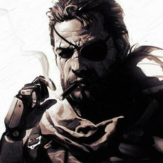 Venom Snake Metal Gear Solid V The Phantom Pain Ilya