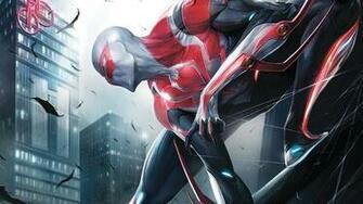 1920x1080 Spider Man 2099 Spider Man Marvel 1080p HD Wallpaper