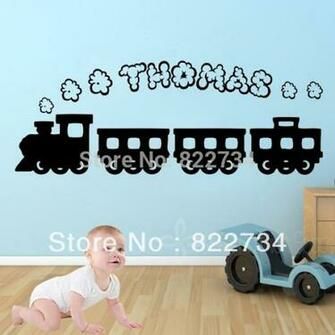 Name Vinyl Wall Stickers Wallpapers Wall Decals Graphic Boys for Kids