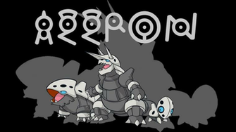 Aggron Background by JCast639